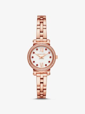Michael Kors Petite Sofie Rose Gold-Tone Lunar New Year Watch,ROSE GOLD