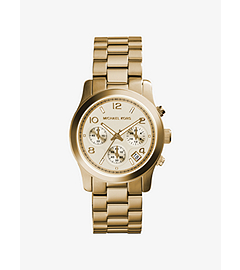 Runway Gold-Tone Stainless Steel Chronograph Watch