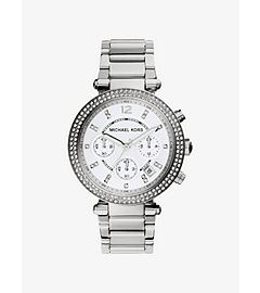 Parker Silver-Tone Stainless Steel Watch