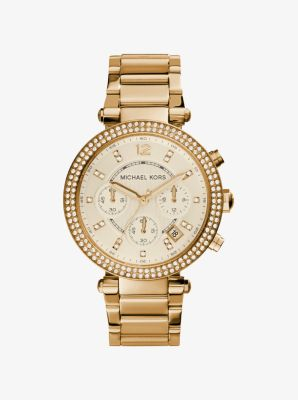 Parker Gold-Tone Watch by Michael Kors