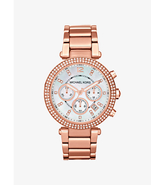 Parker Rose Gold-Tone Stainless Steel Watch