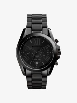 마이클 코어스 메탈 시계 Michael Kors Bradshaw Black Watch,BLACK
