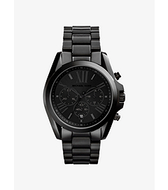 Bradshaw Black Stainless Steel Watch
