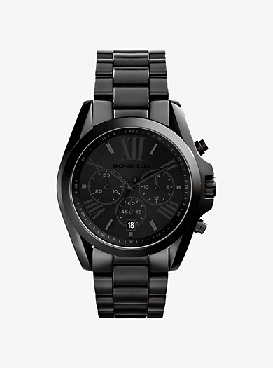 c8f11e41e9f3 Oversized Bradshaw Black-Tone Watch