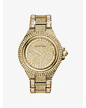 Camille Pavé Gold-Tone Watch