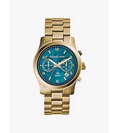 Watch Hunger Stop Runway Gold-Tone Stainless Steel Watch