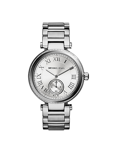 Skylar Pavé Silver-Tone Watch by Michael Kors