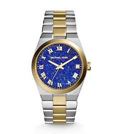 Channing Silver and Gold-Tone Stainless Steel Watch