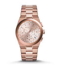 Channing Rose Gold-Tone Stainless Steel Watch