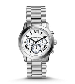 Cooper Silver-Tone Stainless Steel Watch