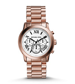 Cooper Rose Gold-Tone Stainless Steel Watch