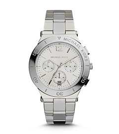 Wyatt Silver-Tone Stainless Steel Watch