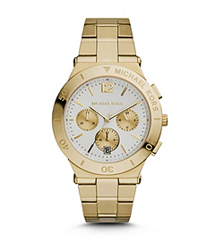 Wyatt Gold-Tone Stainless Steel Watch