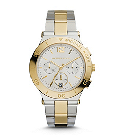 Wyatt Silver and Gold-Tone Stainless Steel Watch