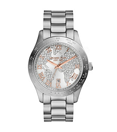 Layton Silver-Tone Stainless Steel Watch