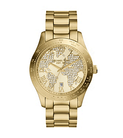 Layton Gold-Tone Stainless Steel Watch