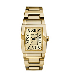 Denali Gold-Tone Stainless Steel Bracelet Watch