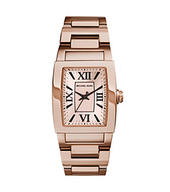 Denali Rose Gold-Tone Stainless Steel Bracelet Watch