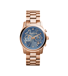Watch Hunger Stop Runway Rose Gold-Tone Stainless Steel Watch