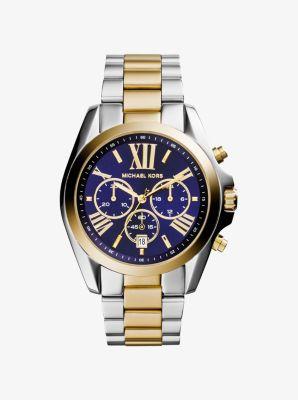 마이클 코어스 메탈 시계 Michael Kors Bradshaw Two-Tone Watch,TWO TONE