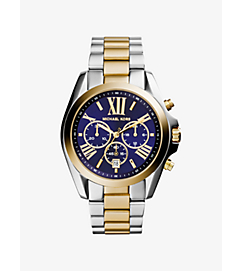 Bradshaw Two-Tone Watch by Michael Kors