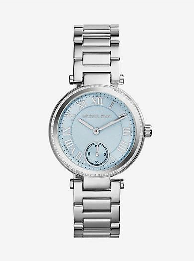 Skylar Silver-Tone Bracelet Watch by Michael Kors