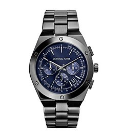 Reagan Silver-Tone Stainless Steel Watch