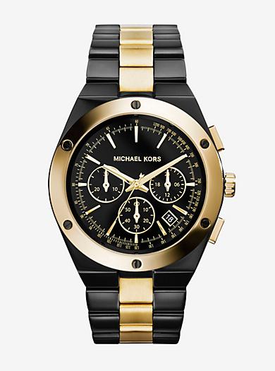 Reagan Two-Tone Watch by Michael Kors