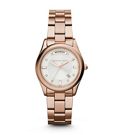 Colette Rose Gold-Tone Stainless Steel Bracelet Watch