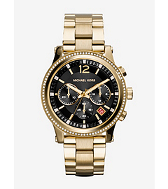 Heidi Gold-Tone Stainless Steel Watch