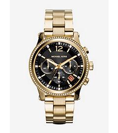 Heidi Gold-Tone Stainless Steel Watch
