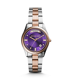 Colette Silver and Gold-Tone Stainless Steel Watch