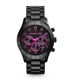 Layton Black Stainless Steel Watch