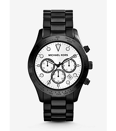 Layton Black Stainless Steel Watch