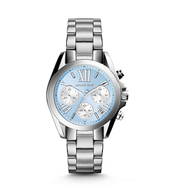 Bradshaw Blue-Dial Silver-Tone Stainless Steel Watch