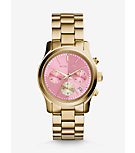 Runway Gold-Tone Watch