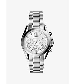 Mini Bradshaw Silver-Tone Watch by Michael Kors
