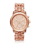 Audrina Blush Acetate and Rose Gold-Tone Watch