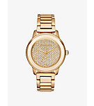 Kinley Pavé Gold-Tone Watch