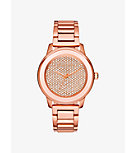 Kinley Pavé Rose Gold-Tone Watch