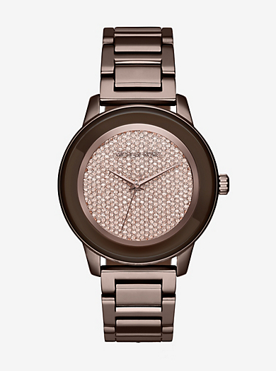 Kinley Pavé Sable Watch by Michael Kors