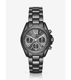 Mini Bradshaw Gunmetal-Tone Watch by Michael Kors