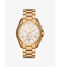 Oversize Bradshaw Gold-Tone Watch by Michael Kors