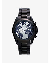 Watch Hunger Stop Oversized Bradshaw 100 Black-Tone Watch