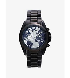 Watch Hunger Stop Oversized Bradshaw 100 Black-Tone Watch by Michael Kors