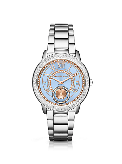 Madelyn Pavé Silver-Tone Watch by Michael Kors