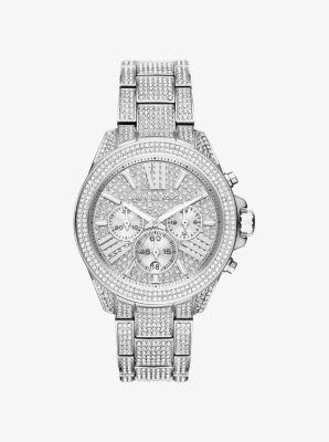 마이클 코어스 메탈 시계 Michael Kors Wren Silver-Tone Watch,SILVER