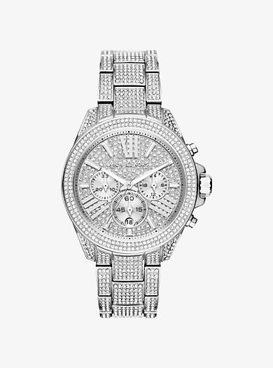 Wren Silver-Tone Watch by Michael Kors