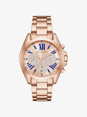 Bradshaw Rose Gold-Tone Watch by Michael Kors