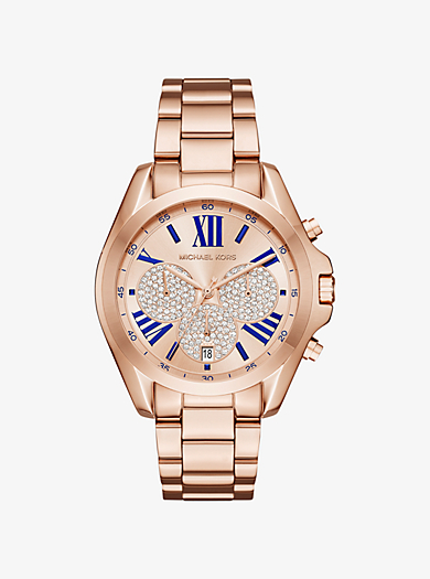 Bradshaw Rose Gold-Tone Watch by Michael Kors
